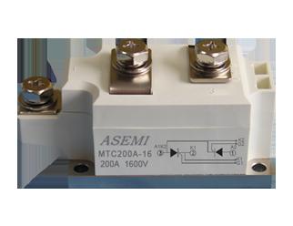 MTC200A-16, ASEMI单相整流模块