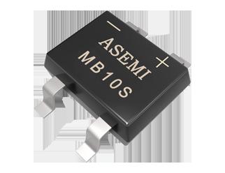 MB10S,MB8S,MB6S,ASEMI贴片整流桥,高档品质LED驱动器电源适配整流桥,50MIL芯片MB10S