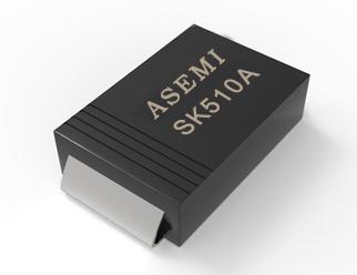 (SK510A-SMA)SK510A/SK515A/SK520A/SK58A/SK56A/SK54A  ASEMI肖特基二极管