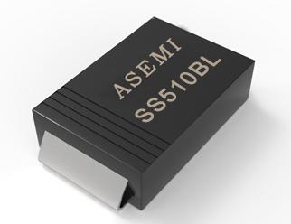 (SS510BL-SMB) SS510BL/SS515BL/SS56BL/S54BL, ASEMI低压降肖特基二极管