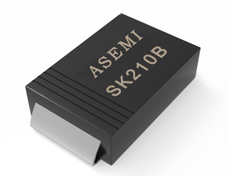 (SK24B-SMB) SK26B/SK28B/SK210B/SK215B/SK220B/SK24B,ASEMI贴片肖特基二极管