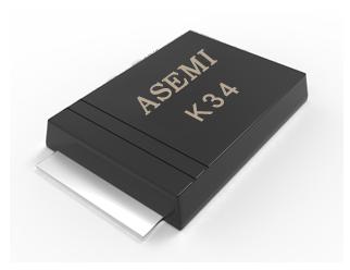 (K34-SOD-123)/K32/K36/K38/K310/K315/K320, ASEMI肖特基二极管