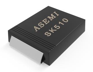 [SK510-SMC] SK510C/SK515C/SK520C/SK58C/SK56C/SK54C ASEMI贴片肖特基二极管