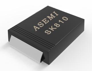 [SK810-SMC] SK810C/SK815C/SK820C/SK88C/SK86C/SK84C   ASEMI肖特基二极管