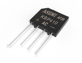 KBP410/KBP408,ASEMI整流桥,插件小扁桥采用74MIL大规格GPP芯片,开关小电源、生活电器标准配置KBP410