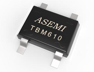 TBM610/TBM608/TBM606/TBM604   ASEMI贴片整流桥