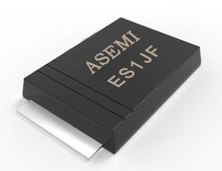 [ES1J-SMAF] ES1JF/ES1MF/ ES1GF/ES1KF/ES1DF  ASEMI超快恢复二极管